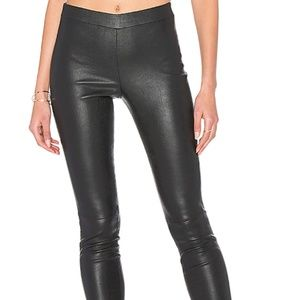 NWT Theory Leather Pants 60% off MSRP